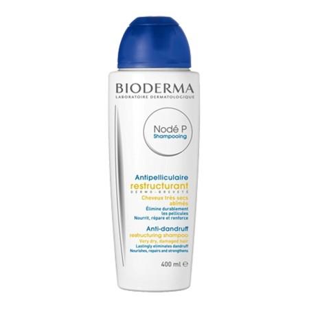Bioderma - Nodé P Shampooing antipelliculaire restructurant Cheveux très secs abîmés 400ml