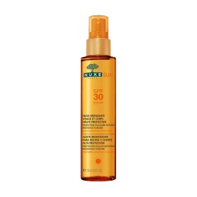 Nuxe Sun - Huile bronzante Visage et corps SPF30 150ml