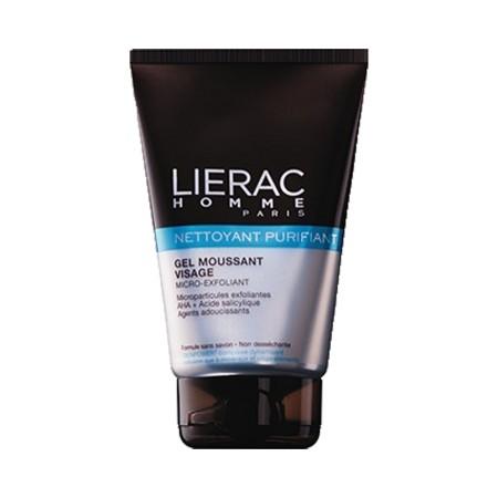 Lierac Homme - Gel moussant nettoyant purifiant visage 100ml