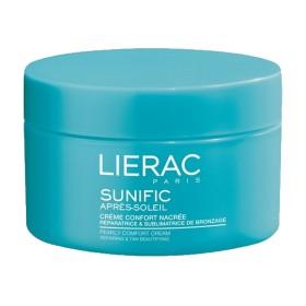 Lierac - Sunific Après-soleil Crème confort nacrée Réparatrice et sublimatrice de bronzage 200ml