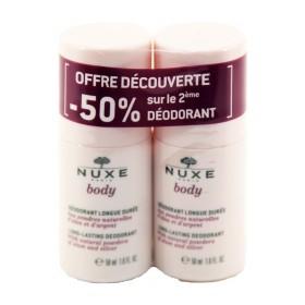Nuxe Body - Déodorant longue durée 50ml Lot de 2