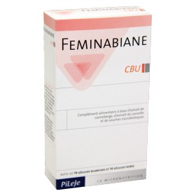 Pileje - Feminabiane CBU 14 gélules blanches 14 gélules ocres