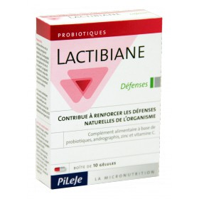 Pileje - Lactibiane Défenses 10 Gélules