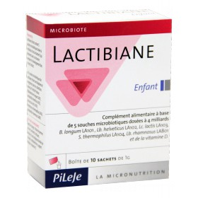 Pileje - Lactibiane Enfant 10 Sachets 1g
