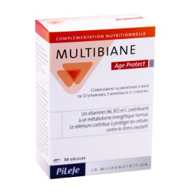 Pileje - Multibiane Age Protect 30 Gélules