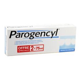 Parogencyl - Dentifrice Prévention gencives anti-âge 2x75ml