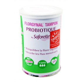 Florgynal By Saforelle Tampon Probiotique 9 Super