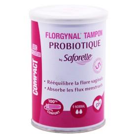 Florgynal By Saforelle Tampon Probiotique 9 Normal