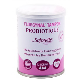Florgynal By Saforelle Tampon Probiotique 12 Normal