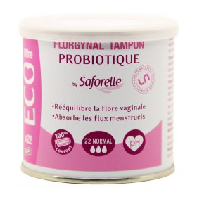Florgynal By Saforelle Tampon Probiotique 22 Normal