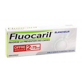 Fluocaril - Dentifrice Blancheur 2x75ml