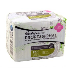 Always - Discreet Professional Serviettes Small Plus x16