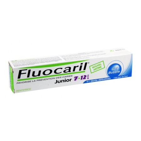 Fluocaril - Dentifrice Junior Gel Bubble 50ml