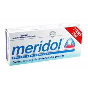 Meridol - Dentifrice Protection Gencives 2x75ml