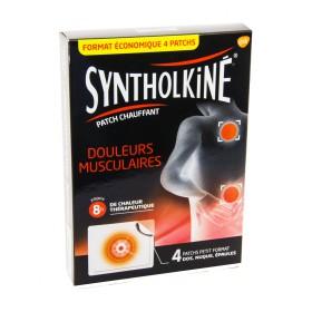 Synthol Kiné - Patch chauffant douleurs musculaires 2x2