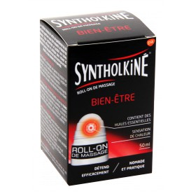Synthol Kiné - Roll-on de massage bien-être 50ml