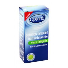 Optone - Solution oculaire rafraîchissante yeux fatigués 10ml