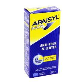 Apaisyl poux - Anti-poux et lentes lotion 100ml