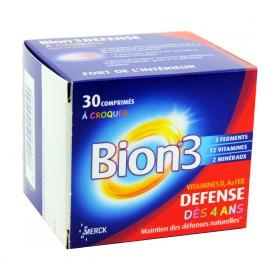 Bion 3 - Défense Junior 30 Comprimés à croquer