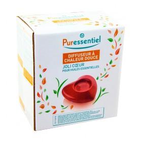 Puressentiel - Diffuseur à chaleur douce pour huiles essentielles rouge