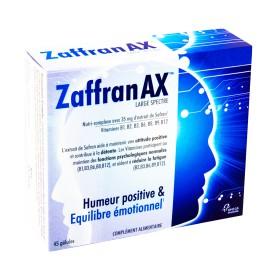 Zaffranax - Large spectre 45 gélules
