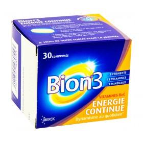 Bion 3 - Énergie continue 30 Comprimés