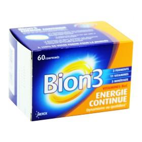 Bion 3 - Énergie continue 60 Comprimés