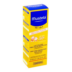 Mustela Bébé - Lait solaire SPF50+ 40ml