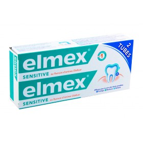 Elmex - Sensitive dentifrice 2x75ml