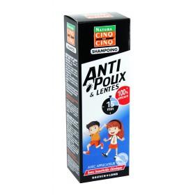 Cinq sur Cinq Natura - Shampooing anti-poux et lentes 100ml