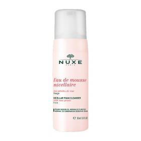 Nuxe - Eau de mousse micellaire aux pétales de rose 50ml