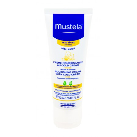 Mustela Bébé - Crème visage nourrissante au Cold Cream 40ml