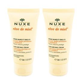 Nuxe - Rêve de Miel Crème mains et ongles 2x50ml