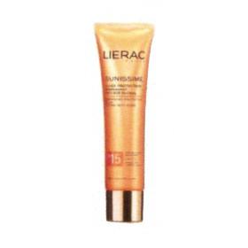 Lierac - Sunissime Fluide protecteur visage et décolleté SPF15 40ml
