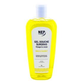 Nepenthes - Gel douche surgras miel vanille visage et corps 500ml