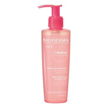 Bioderma - Créaline Gel moussant nettoyant apaisant micellaire 200ml