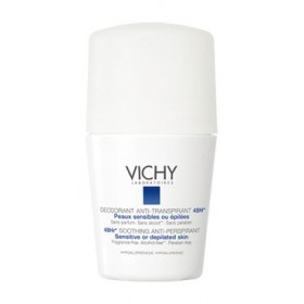 Vichy - Déodorant Anti-transpirant 48H Peaux sensibles Roll-on