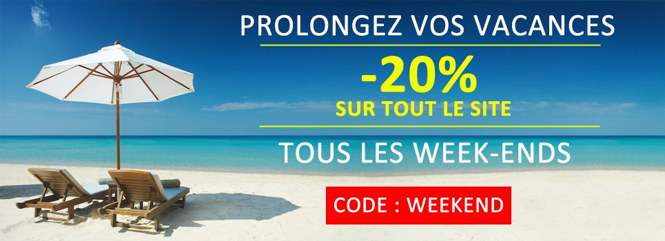 Offre Week-end -20%