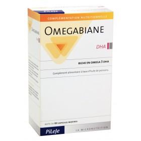 Pileje - Omegabiane DHA 80 Capsules marines