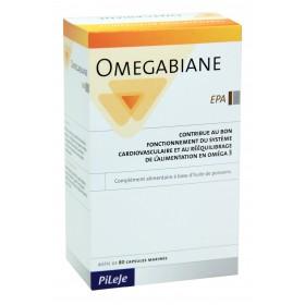 Pileje - Omegabiane EPA 80 Capsules marines