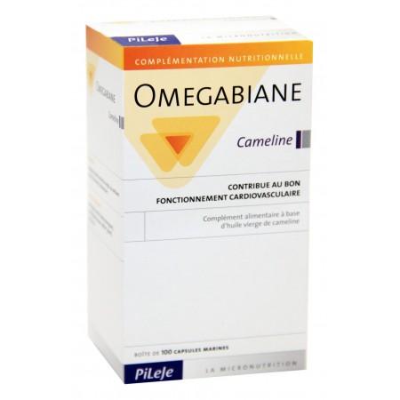 Pileje - Omegabiane Cameline 100 Capsules marines