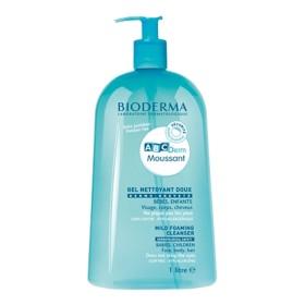 Bioderma - ABCDerm Moussant Gel nettoyant doux Visage corps cheveux 1 Litre