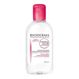 Bioderma - Créaline H2O AR Solution micellaire démaquillante anti-rougeur Visage et yeux 100ml
