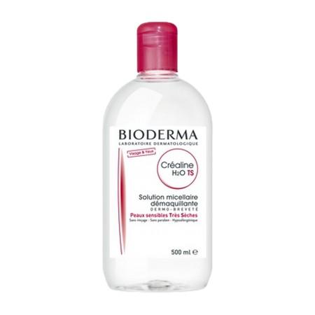 Bioderma - Créaline TS H2O Solution micellaire Visage et yeux 500ml