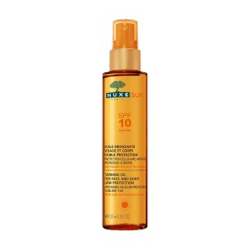 Nuxe Sun - Huile bronzante Visage et corps SPF10 150ml