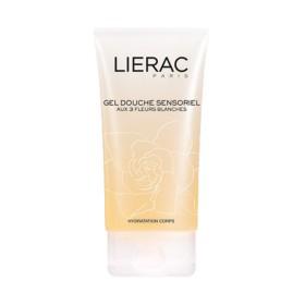Lierac - Gel douche sensoriel aux 3 Fleurs Blanches 150ml