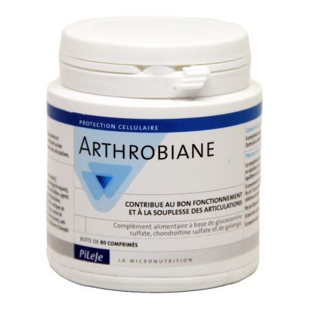 Pileje - Arthrobiane 80 comprimés