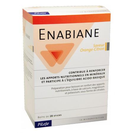 Pileje - Enabiane 28 sticks Saveur Orange Citron