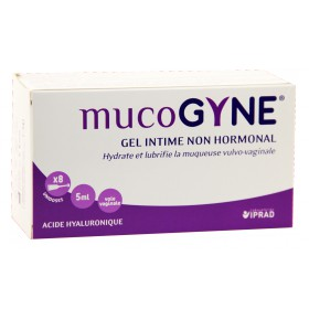 Mucogyne Gel intime non hormonal 8 Unidoses 5ml