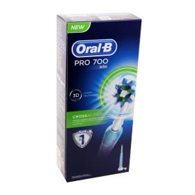 Oral B - Brosse à dents électrique Pro 700 Cross Action